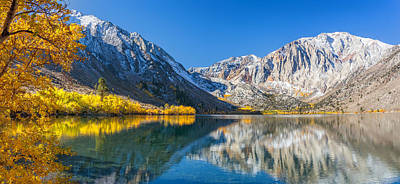 Convict Lake Art Print by Tassanee Angiolillo
