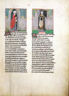Convoytise And Avarice Art Print by British Library