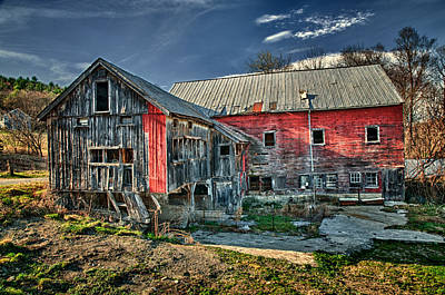 Photograph - Conway Barn by Fred LeBlanc