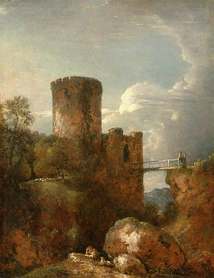 1753 Drawing - Conway Castle, George Howland Beaumont, 1753-1827 by Litz Collection