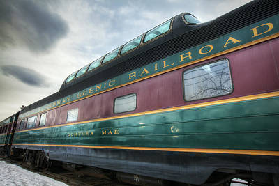 North Conway Photograph - Conway Scenic Railroad by Eric Gendron