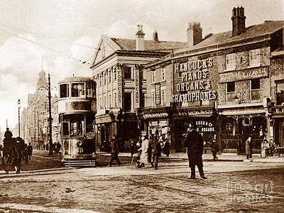 Vintage Conway Photograph - Conway Street Birkenhead England by The Keasbury-Gordon Photograph Archive