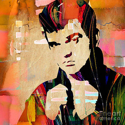 Western Mixed Media - Conway Twitty Collection by Marvin Blaine