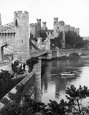 Conwy Castle In Wales Art Print