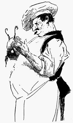 Cook Drawings Drawing - Cook, 19th Century by Granger