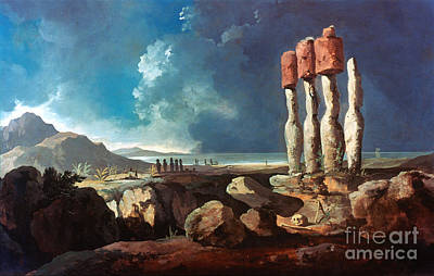Photograph - Cook: Easter Island, 1774 by Granger