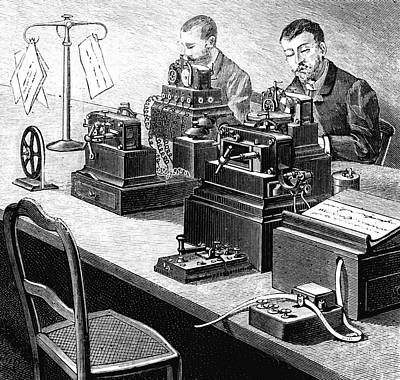 Cooke And Wheatstone Telegraph Art Print