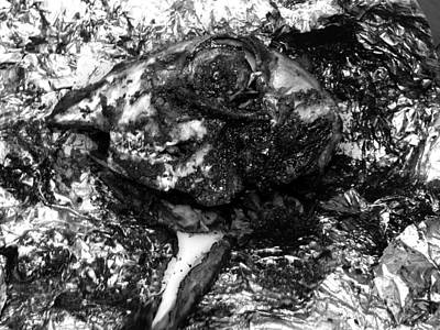 Photograph - Cooked Lambs Head  by Tarey Potter