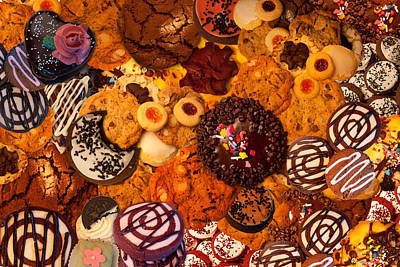 Sweet Bread Photograph - Cookie Crazy 2  by Alixandra Mullins