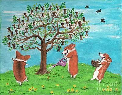 Ryta Painting - Cookie Tree by Margaryta Yermolayeva