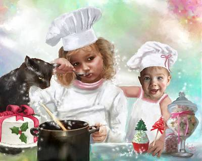 Cookin Up A Little Christmas Magic Original by Colleen Taylor