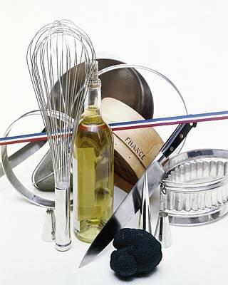 Oil Knife Photograph - Cooking Equipment by John Stewart