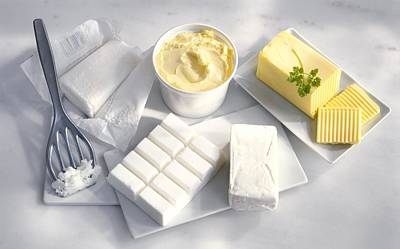 Margarine Photograph - Cooking Fats by Science Photo Library