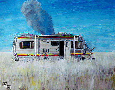 Crystal Meth Painting - Cooking by Jeremy Moore