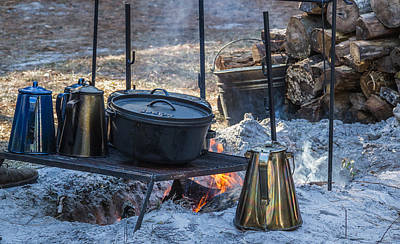 Photograph - Cooking Over The Campfire by Jane Luxton