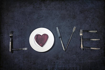 Cooking With Love Print by Joana Kruse