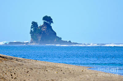 Photograph - Cook's Hat - Rock Formation Off The Coast Of Vanuatu - South Pacific by David Hill