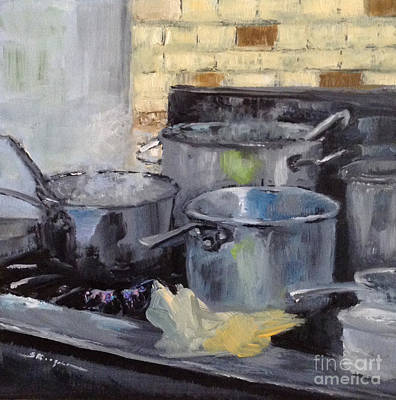 Painting - Cook's Paradise by Shelley Koopmann