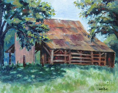 Painting - Cool Barn by William Reed