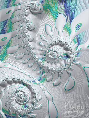 Digital Art - Cool Calm And Collected  by Heidi Smith