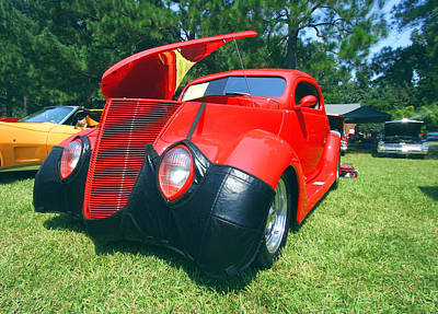 Photograph - Cool Car At A Car Show by Joseph C Hinson Photography