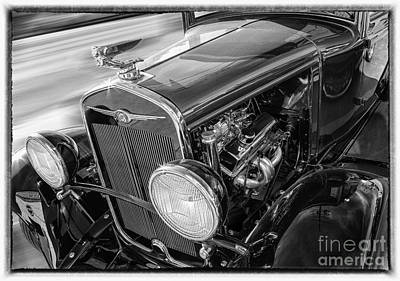 Photograph - Cool Classic 1930 Chrysler Hot Rod by Jerry Cowart