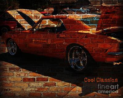 Photograph - Cool Classics Graffitti Series by Bobbee Rickard