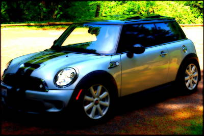 Photograph - Cool Cooper Sport by Kathy Sampson