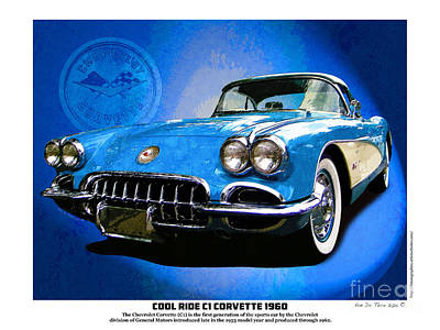 Photograph - Cool Corvette by Kenneth De Tore