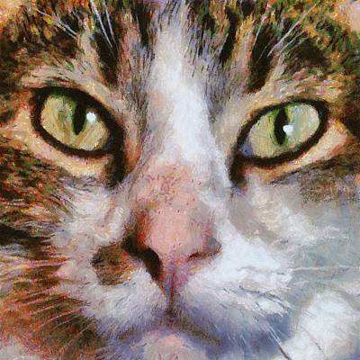 Painting - Cool For Cats  by Tracey Harrington-Simpson