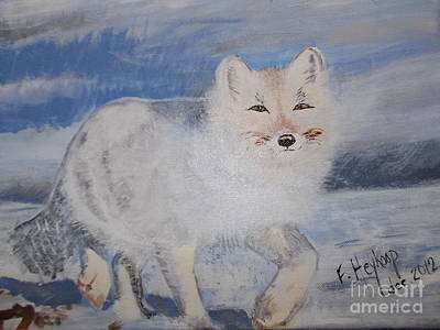 Painting - Cool Fox by Francine Heykoop