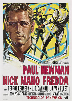 1960s Poster Art Photograph - Cool Hand Luke Aka Nick Mano Fredda by Everett