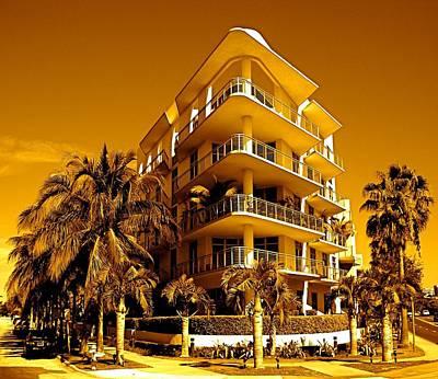 Cool Iron Building In Miami Art Print