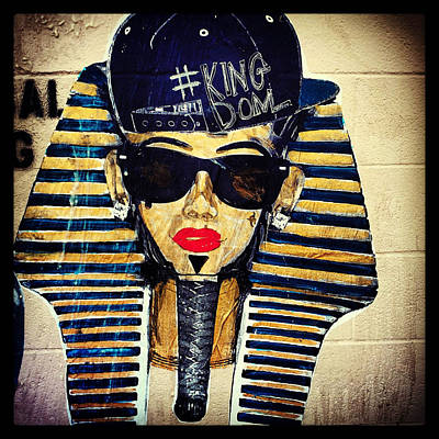 Hiphop Painting - Cool King Tut by Dominique James