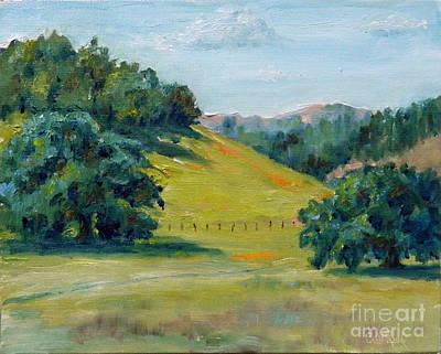 Cool Meadow Art Print