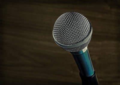 Photograph - Cool Microphone by Phil Cardamone