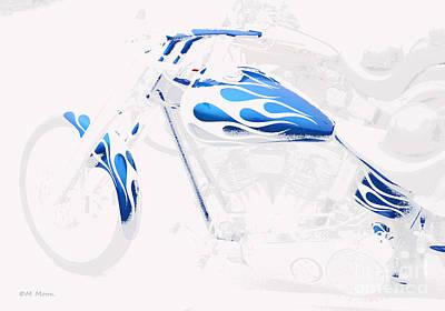 Cool Motorcycle Art Print