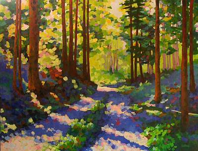 Cool Of The Shade Art Print by Mary McInnis