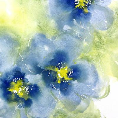 Cool Poppies 2 Art Print