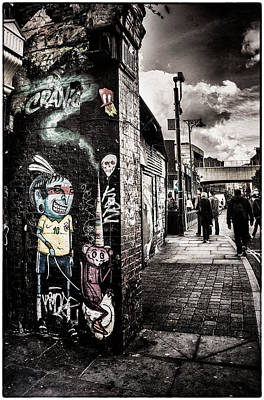 Photograph - Cool Street Art Brick Lane London by Lenny Carter