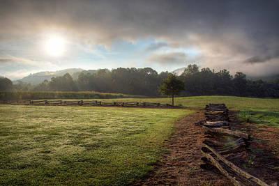 Photograph - Cool Summer Morning by Aaron Morgan