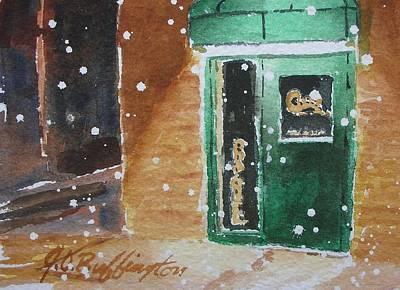 Cooley's Back Door Art Print