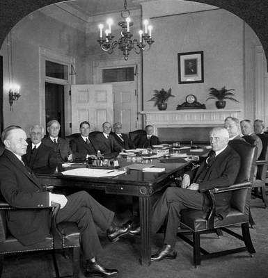 Clark Table Photograph - Coolidge & Cabinet, C1925 by Granger