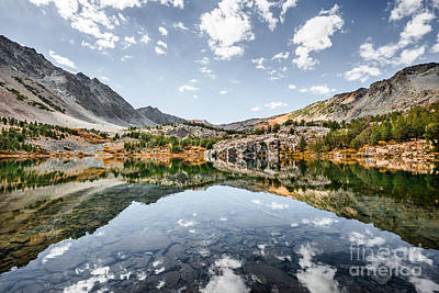 Photograph - Cooney Lake Mirror by Alexander Kunz