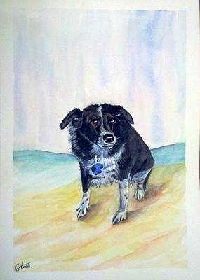 Coop Dog Sold Art Print by Richard Benson
