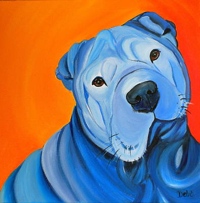 Painting - Cooper by Debi Starr