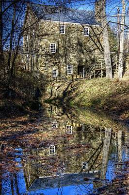 Photograph - Cooper Grist Mill by Lucia Vicari