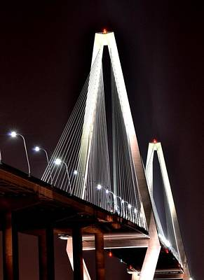 Photograph - Cooper River Bridge  by Jeff  Bjune