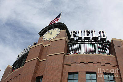Photograph - Coors Field 1 by Chris Thomas