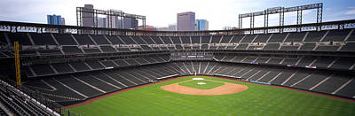 Coors Photograph - Coors Field Denver Co by Panoramic Images